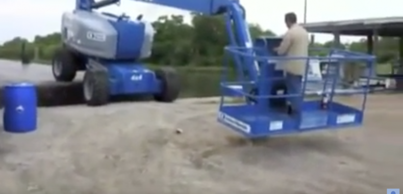 How Not to Use a Cherry Picker