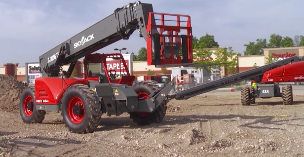 Skyjack's Latest Range Of Telehandlers