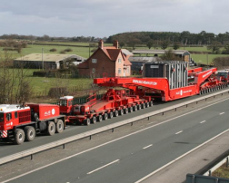 The transformer is the size of a one-bedroomed house
