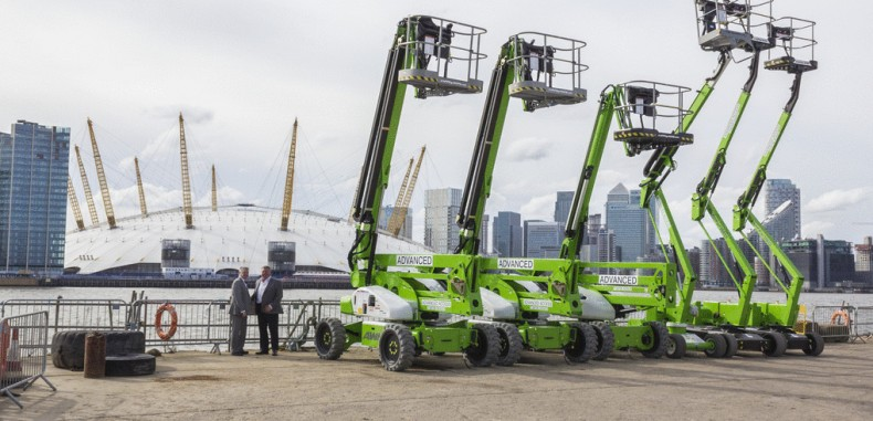Advanced Access Go Green with Niftylift for New London Depot
