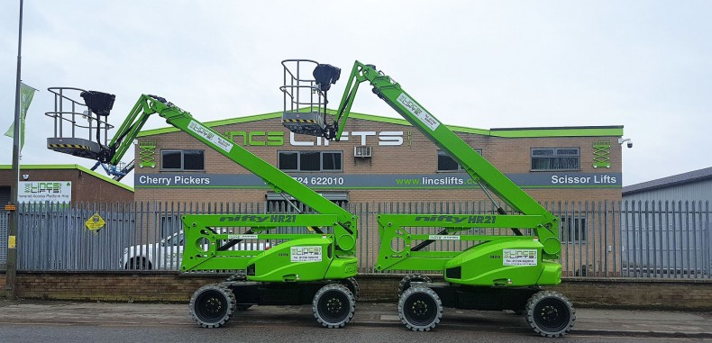 Lincs Lifts add more Niftylift Machines