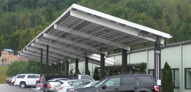 Panel Built Offers a Sound Financial and Environmental Investment with Solar Canopy System