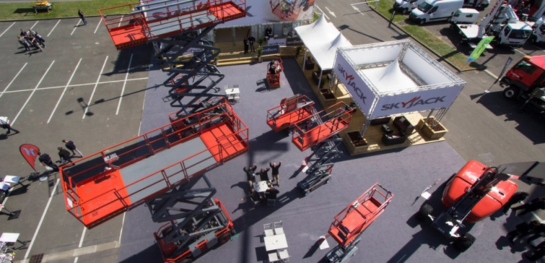 New Skyjack Prototype to be Shown at Intermat