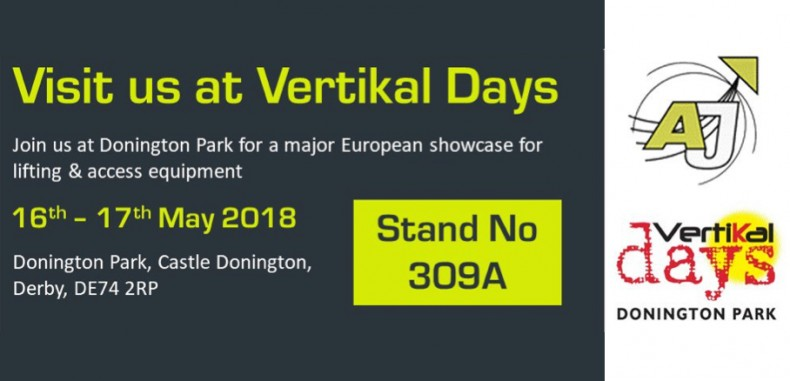 AJ Access Platforms to showcase new and used access platforms at Vertikal Days event